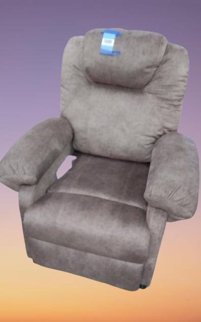 Grey Massage Recliner