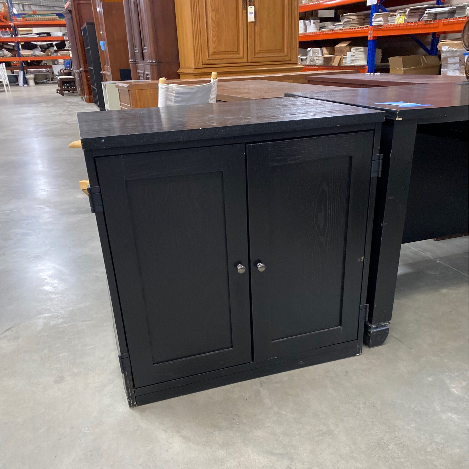 CLEARANCE-DESK AND 1 CABINETS