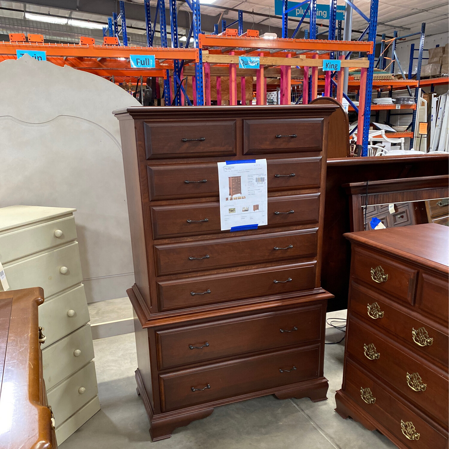 HOOSIER CHEST OF DRAWERS