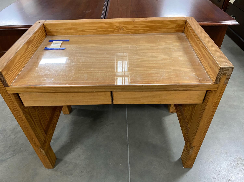 2 Drawer wood Desk