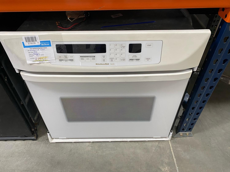 Kitchen Aid White Oven
