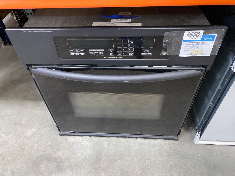 Kitchen Aid Black Oven