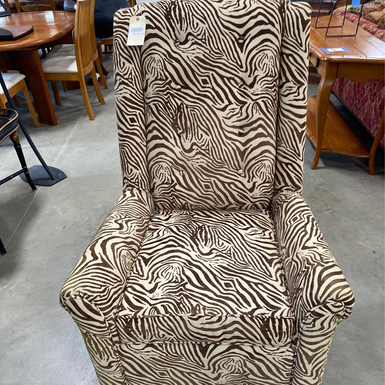 Zebra look Chair