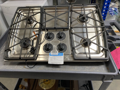 Kitchen Aid Gas Cooktop Stainless Steel