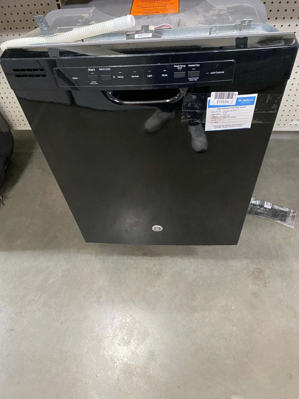 GE Dishwasher Black
