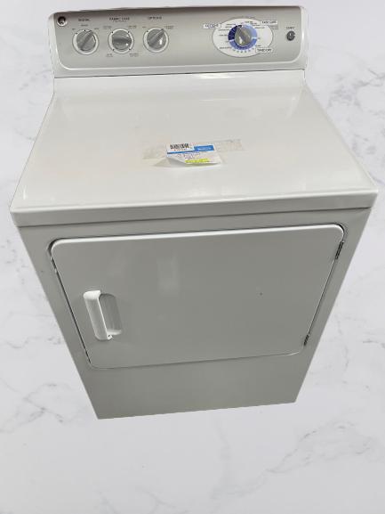 GE Gas Dryer White