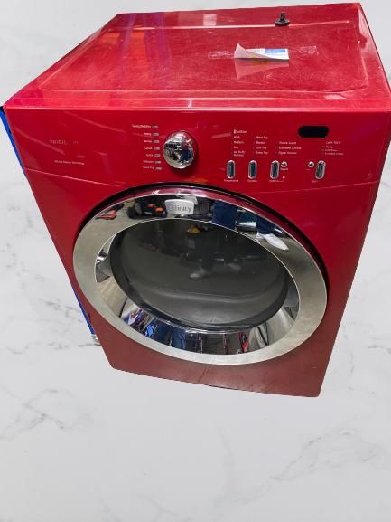 Frigidaire Gas Dryer Red