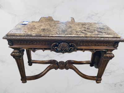 Traditional Carved Sofa Table