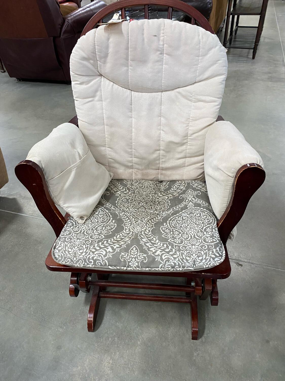 Rocking Chair Beige Cushion