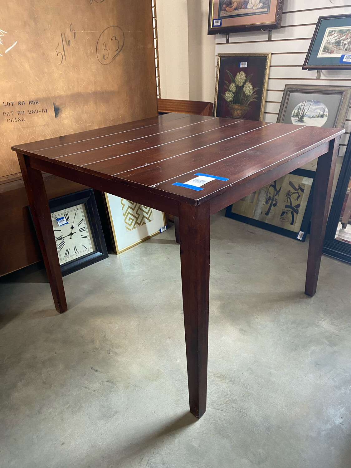 High Dining Table No Chairs