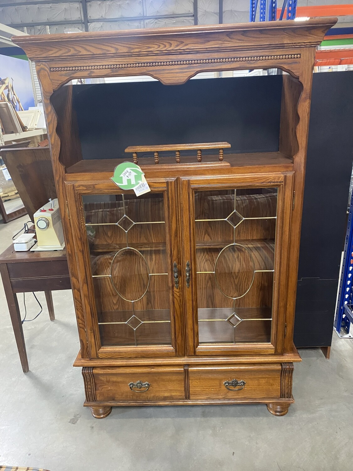 CLEARANCE 80'S DISPLAY CABINET