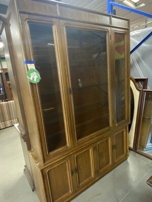 CLEARANCE MED. BROWN HUTCH