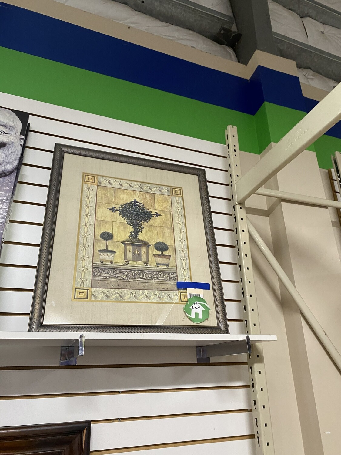 CLEARANCE FRAMED TOPIARY ARTWORK