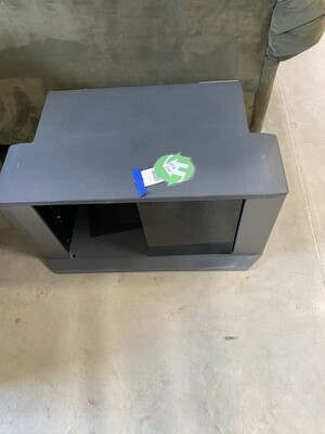 CLEARANCE SMALL BLACK TV STAND
