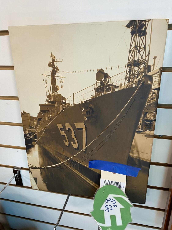 CLEARANCE BATTLE SHIP 537 ART