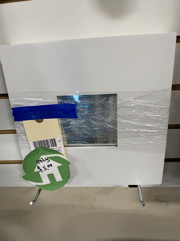 CLEARANCE IKEA MALMA SQUARE WOODEN MIRROR SET