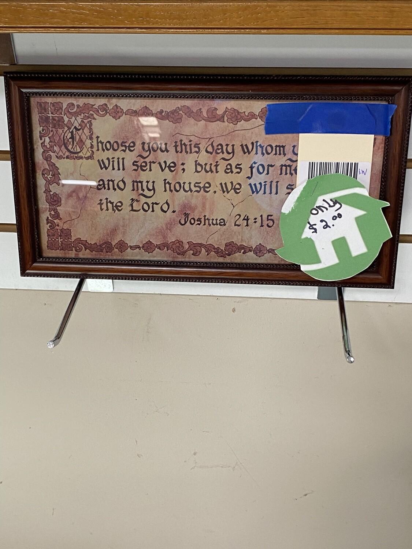 CLEARANCE VERSE JOSHUA 24:15