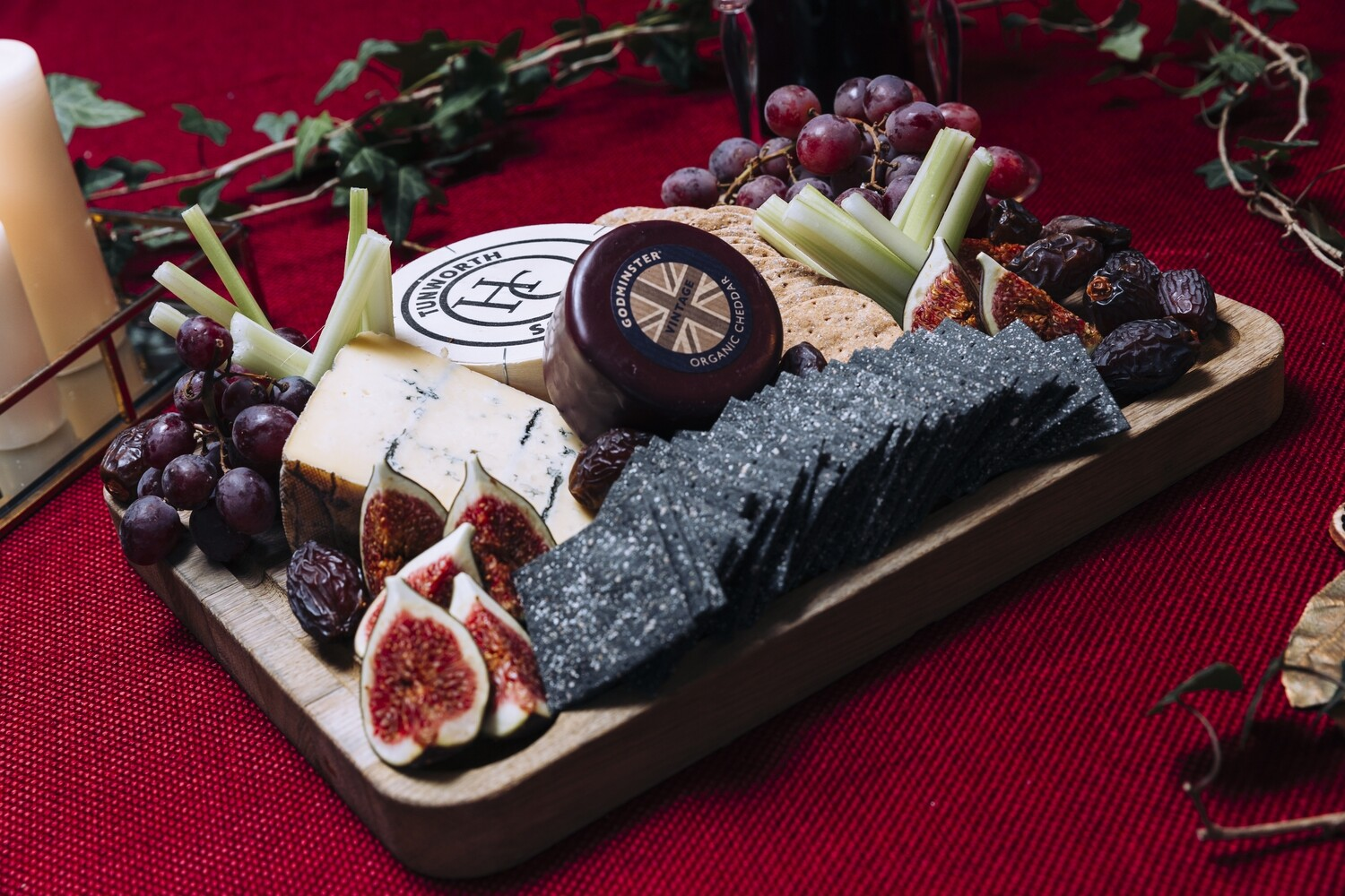 Our Curated British Cheeseboard