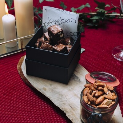 Our Signature Double Chocolate Brownie Box