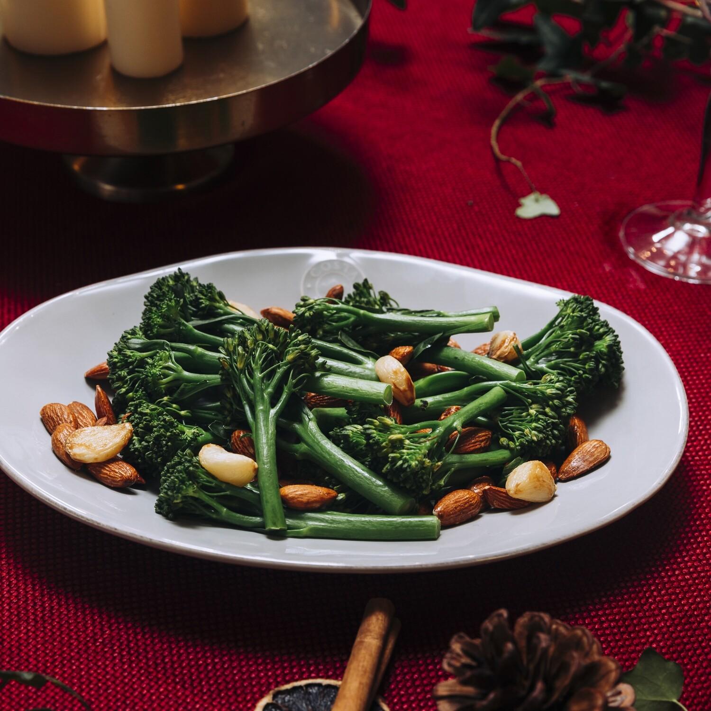 Tenderstem Broccoli with Smoked Almonds
