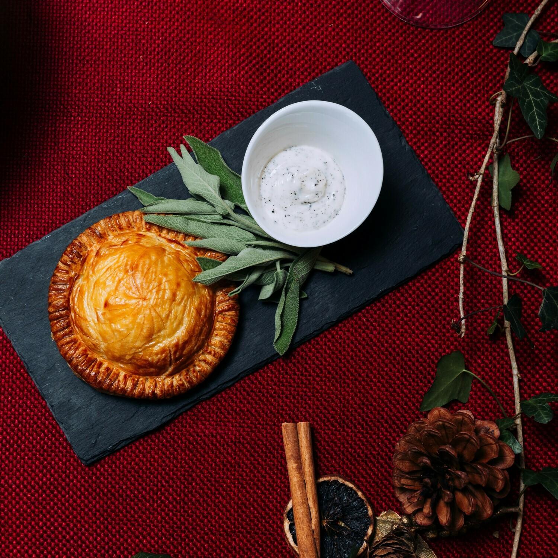Black Truffle, Woodland Mushroom and Caramelised Shallot Wellington | Main