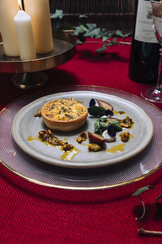 Pear and Roquefort Tart | Starter