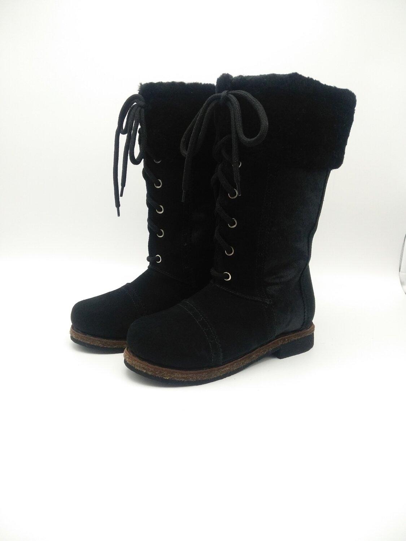 37 Унты-ботиночки женские из замши