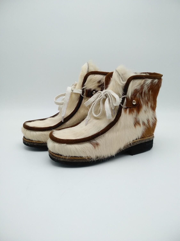 38 Унты-ботиночки женские из теленка