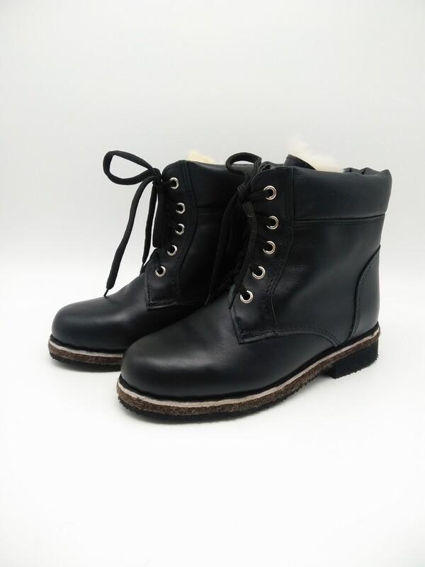 41 Унты-ботинки мужские из кожи