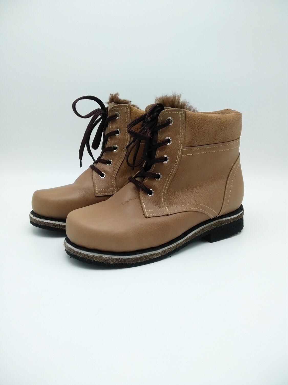 43 Унты-ботинки мужские из кожи