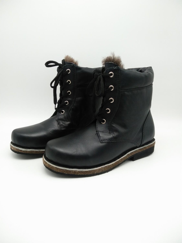 46 Унты-ботинки мужские из кожи