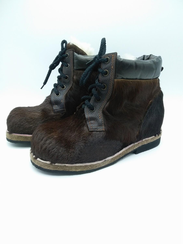 44 Унты-ботиночки мужские из коровы и кожи