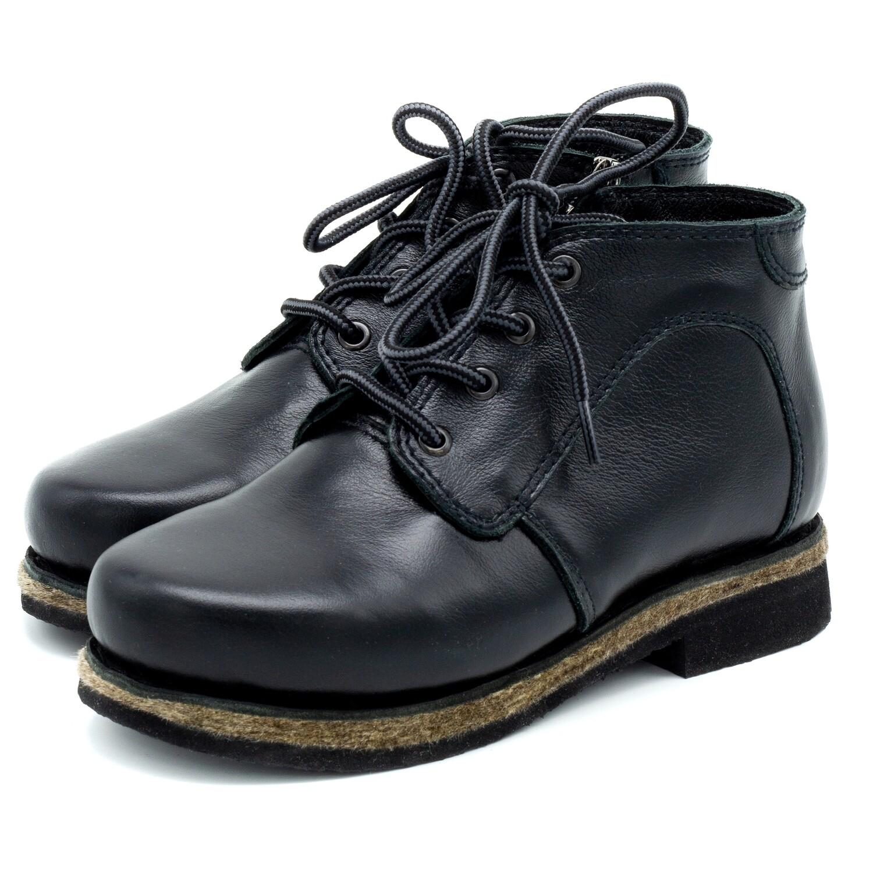 Унты-ботиночки женские из кожи