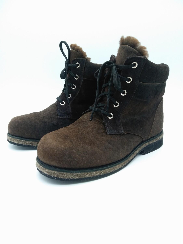 45  Унты-ботинки мужские из теленка