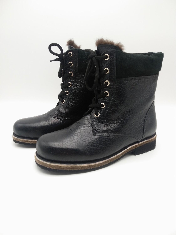 46 Унт-ботинки мужские из кожи