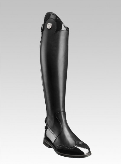 Tucci Marilyn Patent Punched Long Boots
