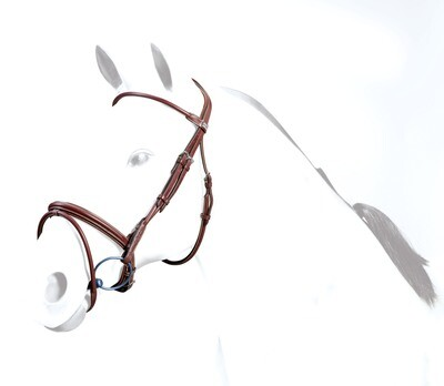 BR39 - Equipe Rolled Leather Flash Bridle