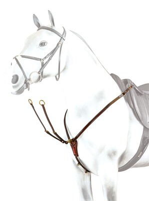 BP15 - Equipe Y Breastplate with Patent Inserts
