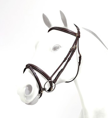 BRE06 - Equipe Emporio Flash Bridle With Stitching