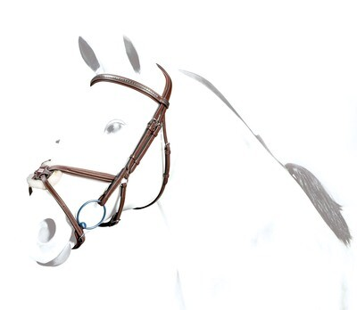 BR37 - Equipe Grackle Bridle with Clincher BB