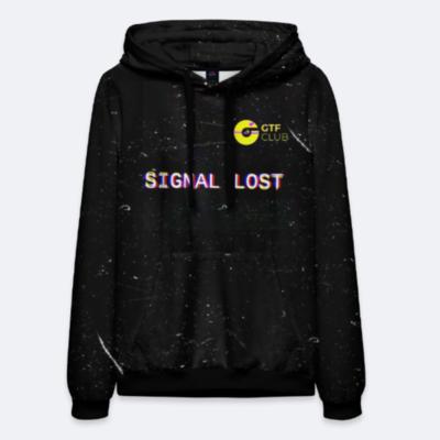 Мужское худи GTF Space X SCVDL Collection (черное)