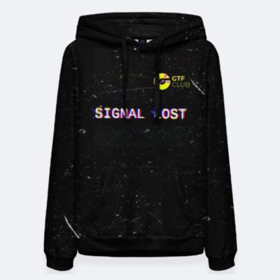 Женское худи GTF Space X SCVDL Collection (черное)