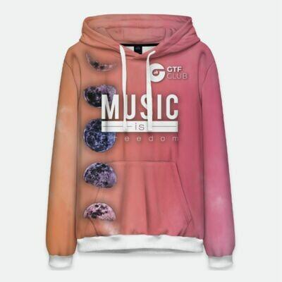 Худи Мужское The Fluid Collection (розовое)