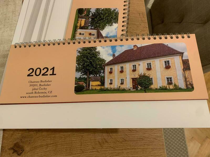 Kalendář Chateau Budislav 2021