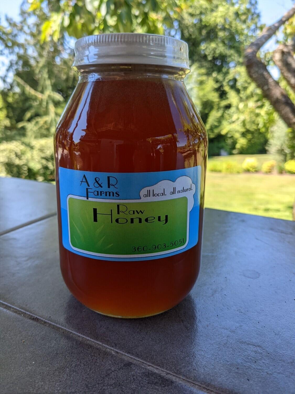 Raw, local Honey, 1 Quart