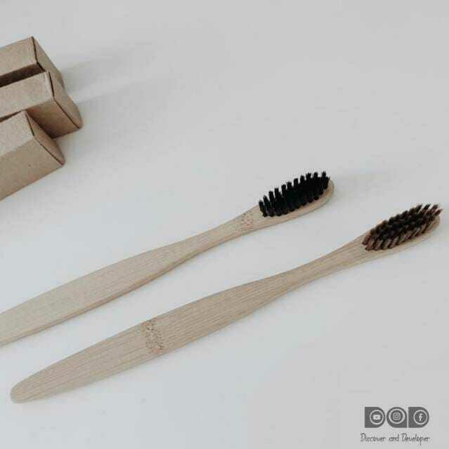 Bamboo Tooth Brush - 1 Pc