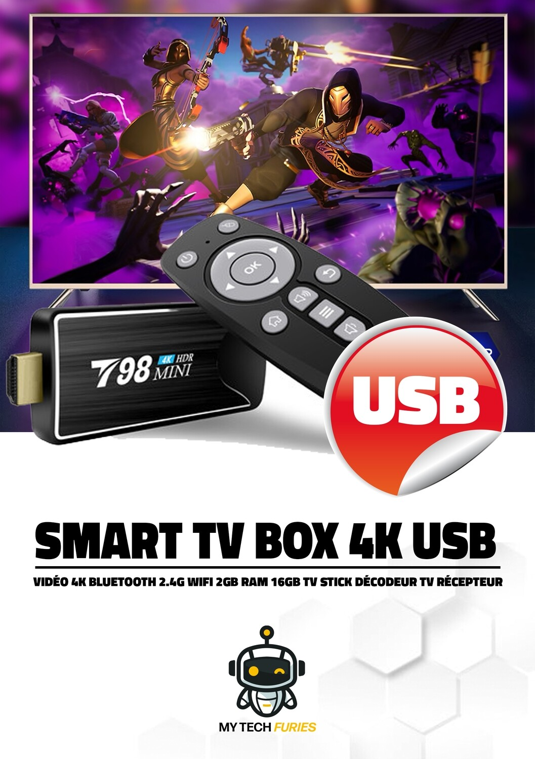 Stick TV Multimedia Android 10.0
