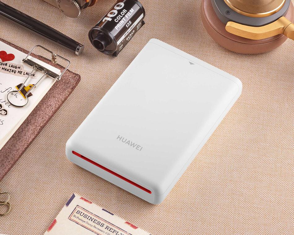 HUAWEI Imprimante photo portable CV80 - Compatible avec tous les devices Android + recharge de 10 photos
