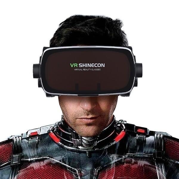 Casque 3D de Réalité Virtuelle pour Smartphone (iOS / Android) VR SHINECON