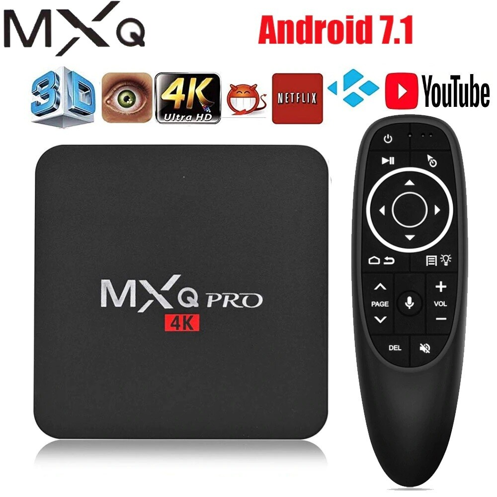 Box TV Android Décodeur MXQ PRO | Compatible EU